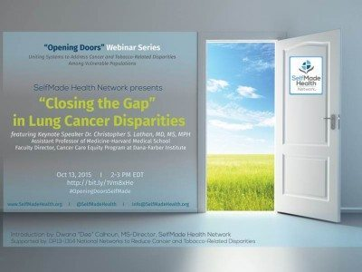 Lung Cancer Disparities webinar